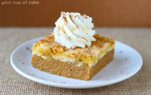 Healthy Pumpkin Dump Cake Recipe