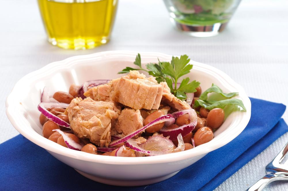 Tasty Tuna, Asparagus and White Bean Salad