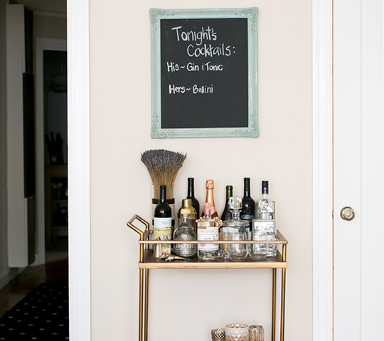 chalkboard picture frame