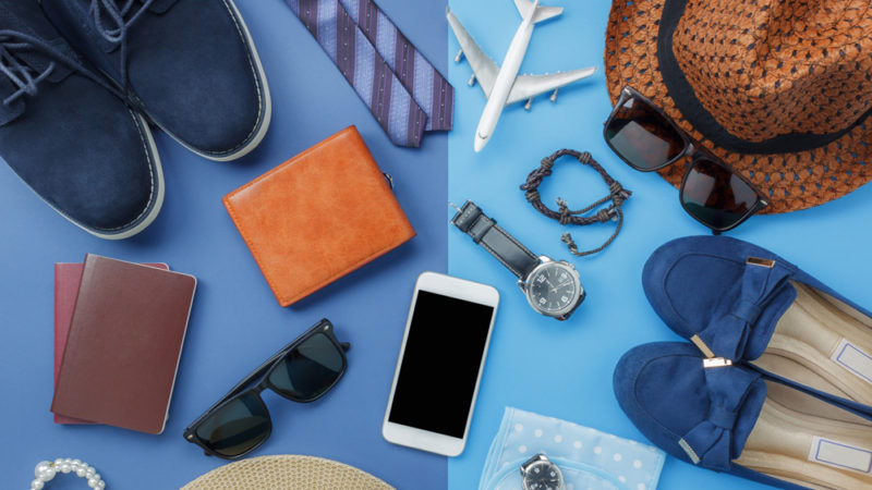 Make sure to pack all your gadgets for vacation!