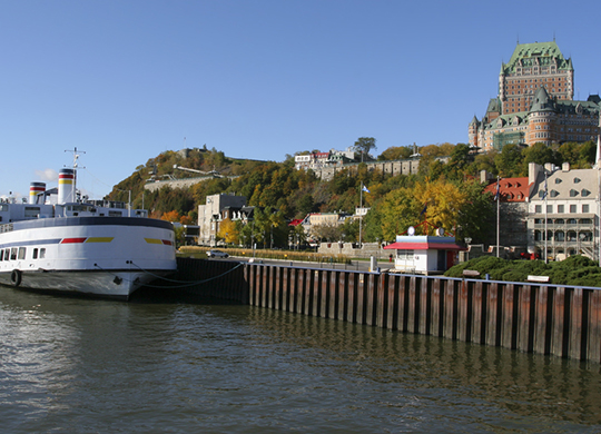 Quebec City, Chateau Frontenac and Saint Lawrence River