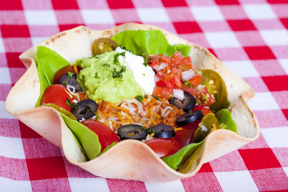 tiny taco bowl