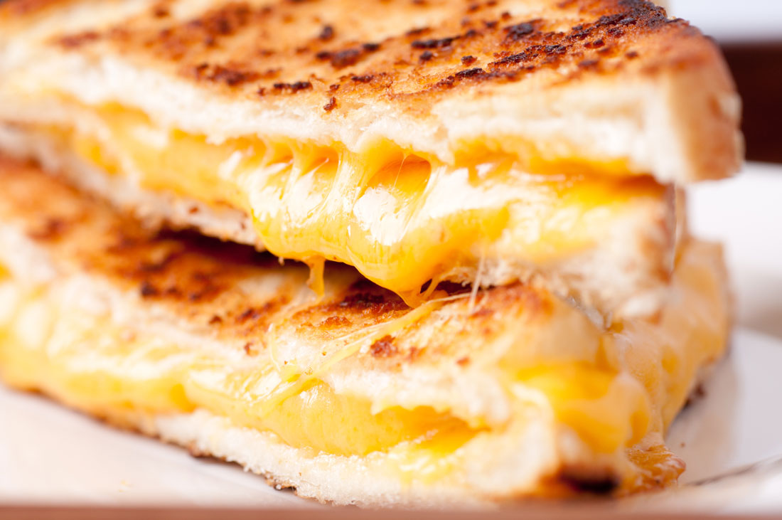 Grilled Ham And Cheese With Tapenade
