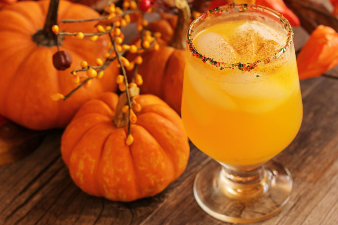 Four fun and festive fall mocktails and cocktails for Fun fall drinks