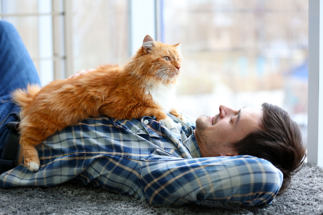 Surprising Ways Your Pet Keeps You Healthy And Happy