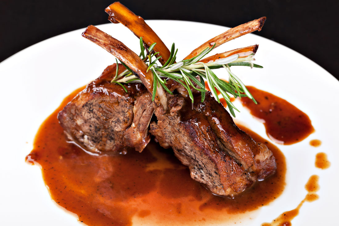 Succulent Grilled Lamb Chops   Greek Food - Greek Cooking