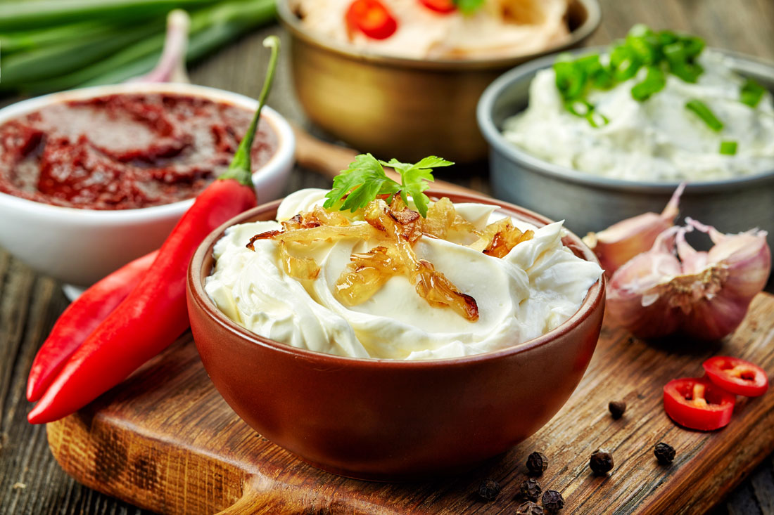 Party Time: Four Delicious Dips For Veggies, Chips & More
