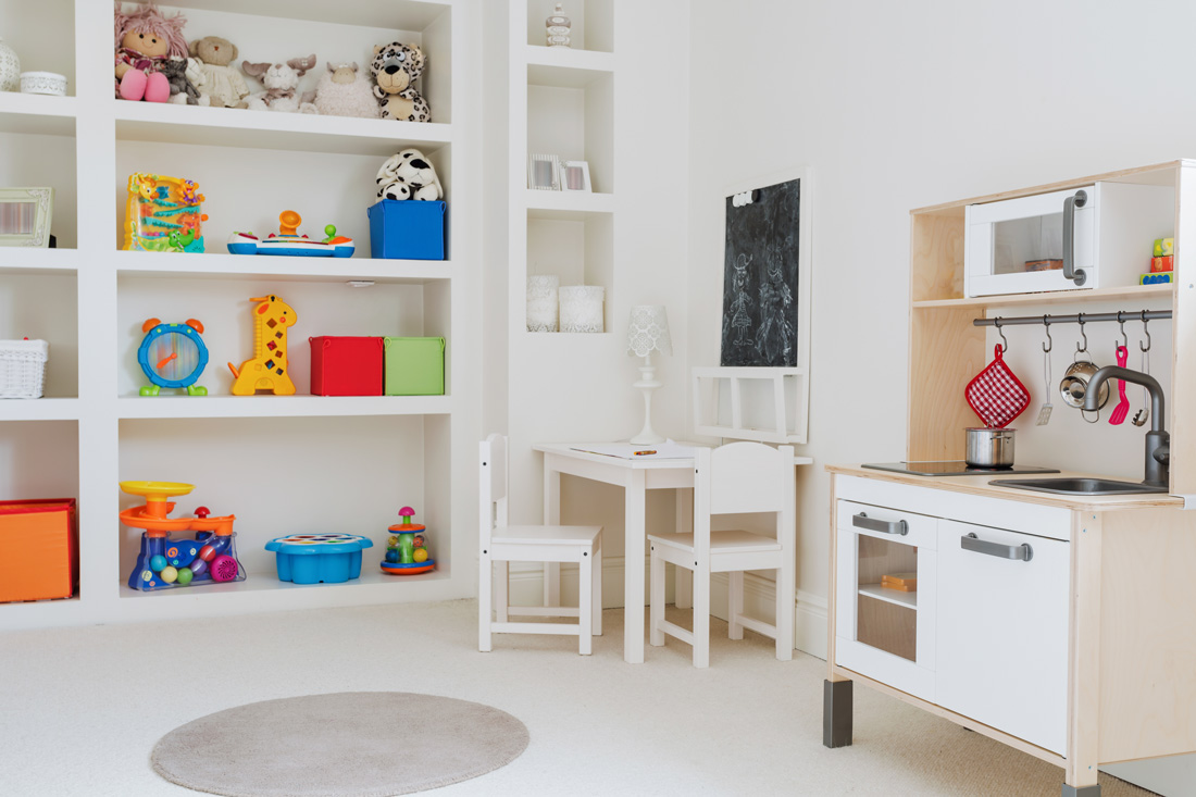Tame The Toys: Storage Hacks For The Organized Parent