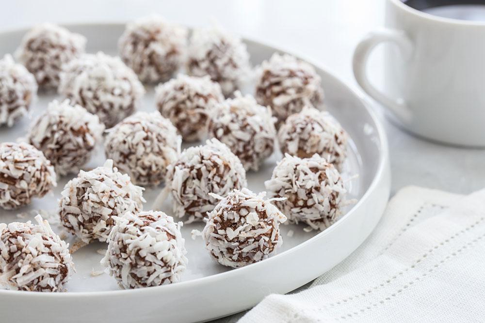 Chocolate Coconut Truffles