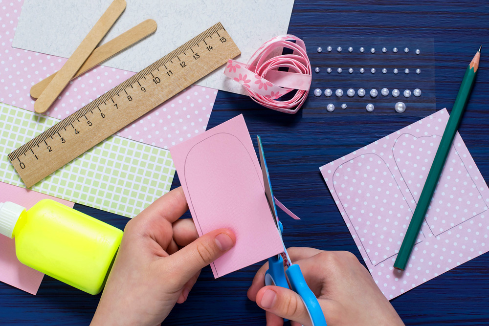 greeting card crafting