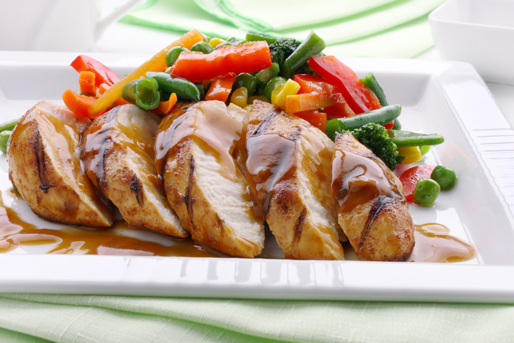 Apricot Balsamic Chicken