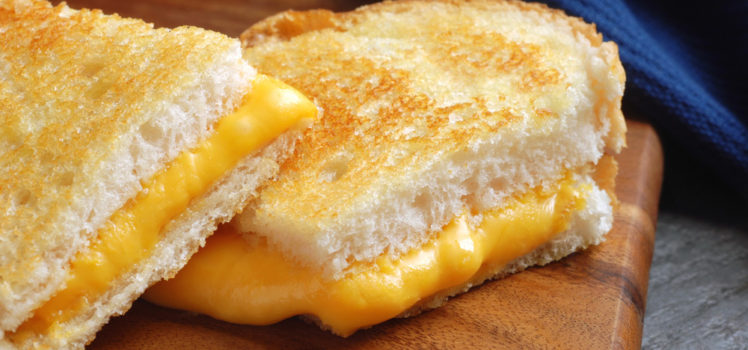 Gooey Grilled Cheese