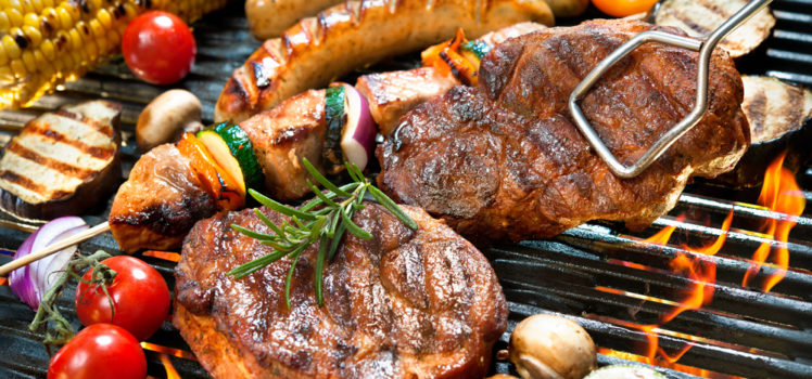 Grilling keeps the kitchen cooler this summer.