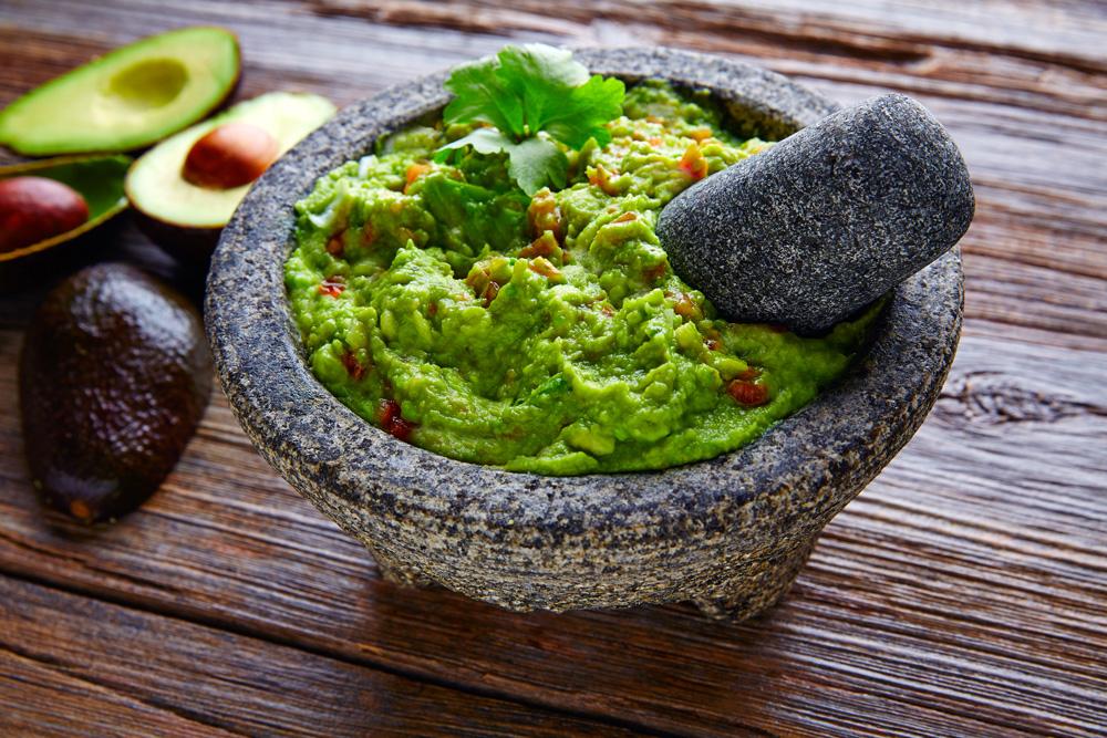 Guacamole is essential for Cinco de Mayo