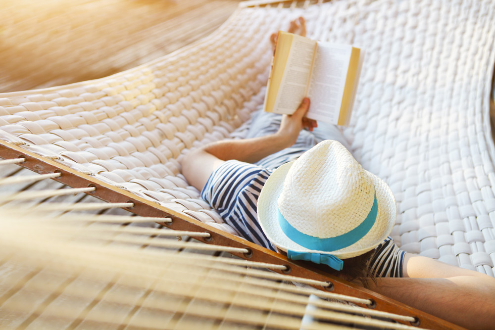 Try a real book during your digital detox