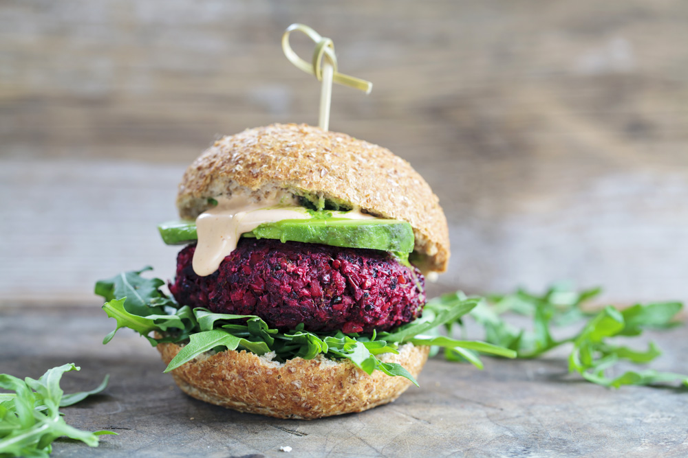 try beet lentil burgers for grilling
