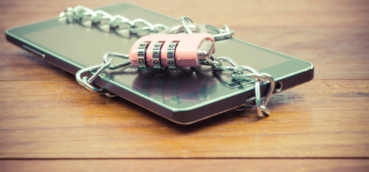 Lock up your phone for a digital detox
