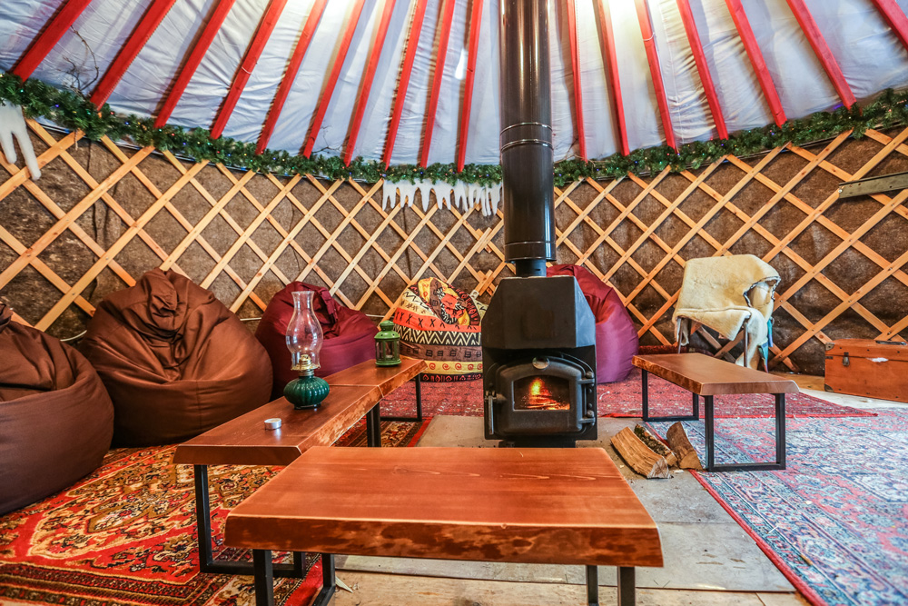 Glamping is both fun and luxurious