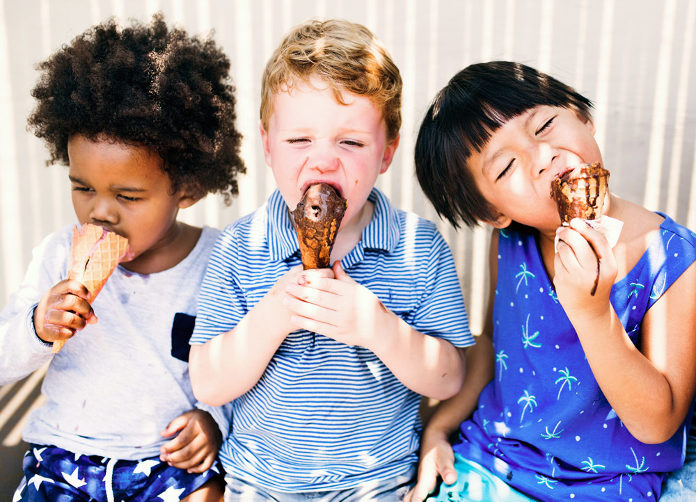 Everyone loves ice cream parties!