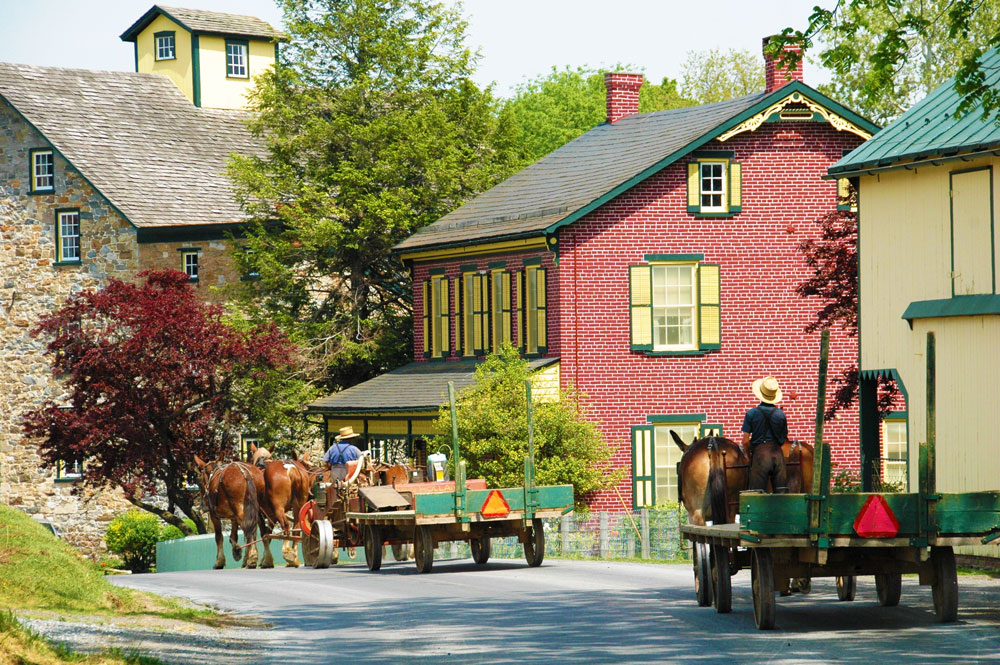 Amish Country in PA is a beautiful part of the mid-Atlantic region.