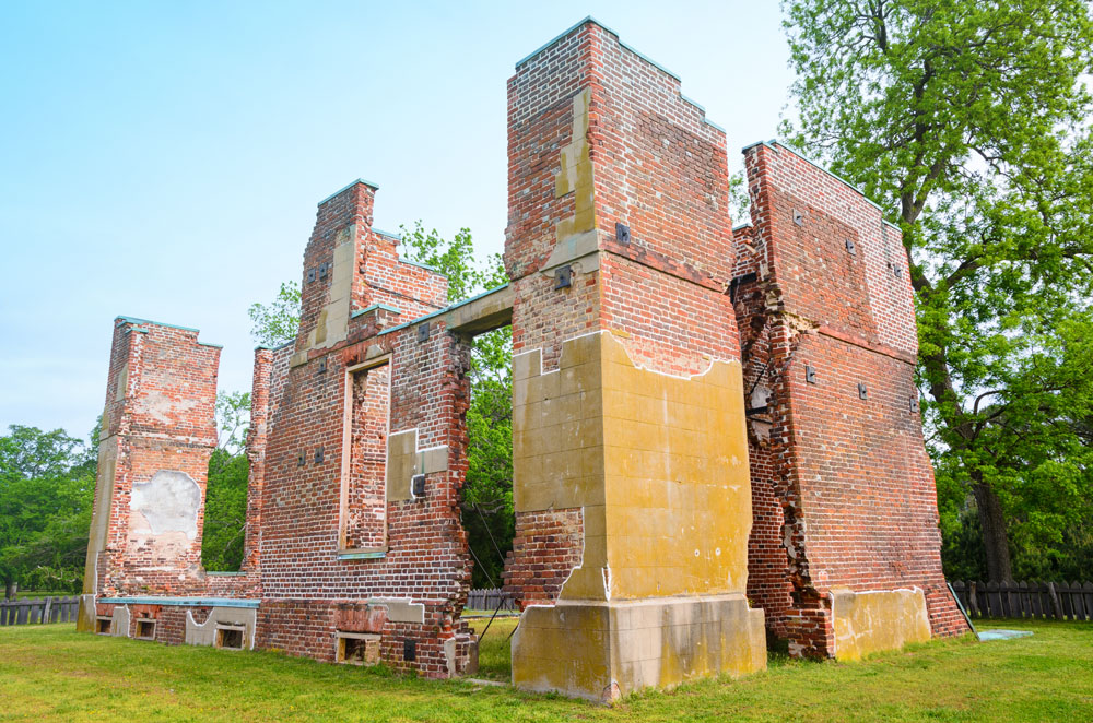 Jamestown is a historic site in the mid-Atlantic region
