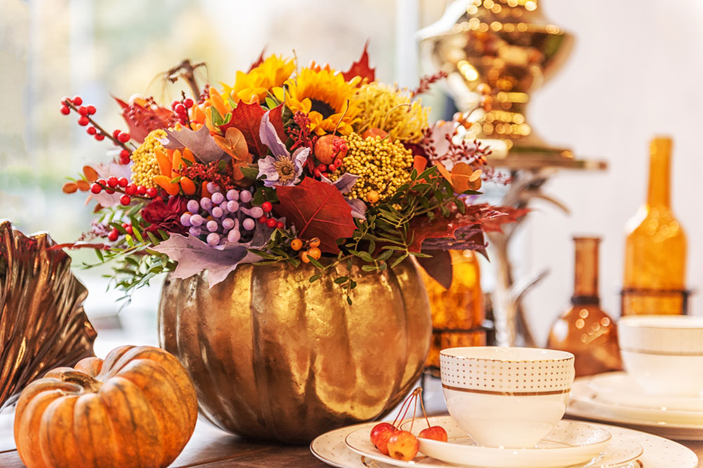 Fall crafts made from pumpkins are beautiful