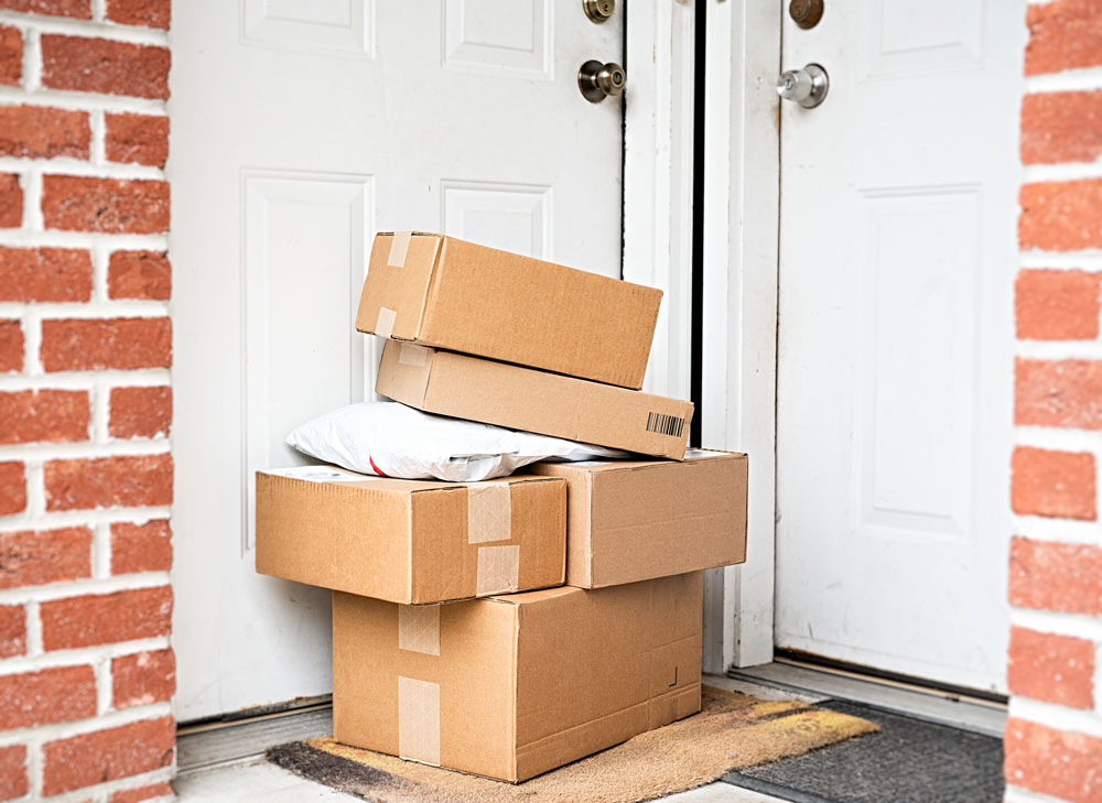 Don't let packages pile up while you're on winter vacation.