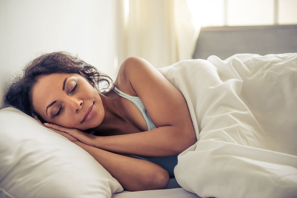 Gratitude brings better sleep