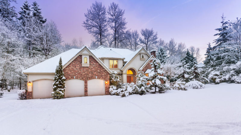 Learn how to prep your home before winter vacation
