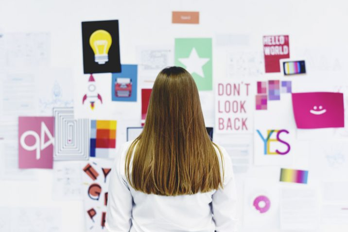 Make a vision board to achieve your goals more easily.